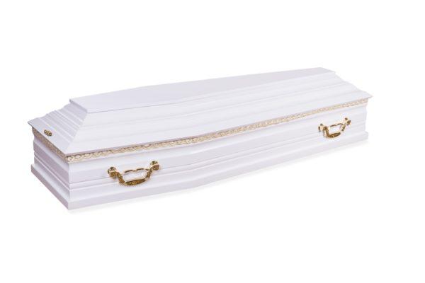 Гроб белый А-2