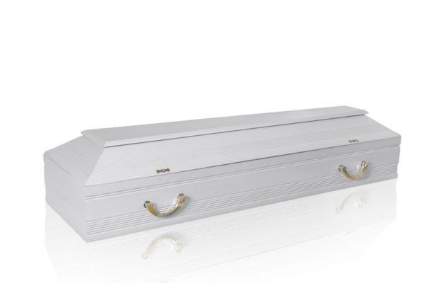 Гроб белый А-7