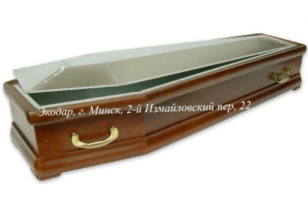Цинковый гроб в деревянном