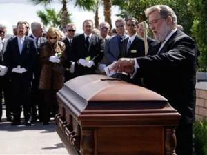 Ведущий похорон